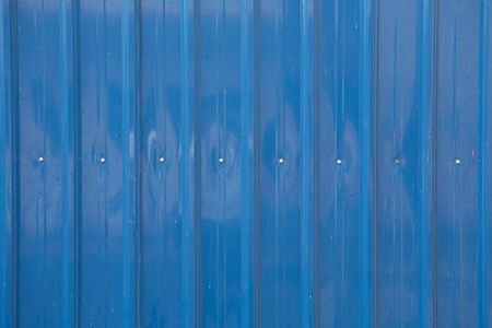 metal sheet: blue metal sheet wall