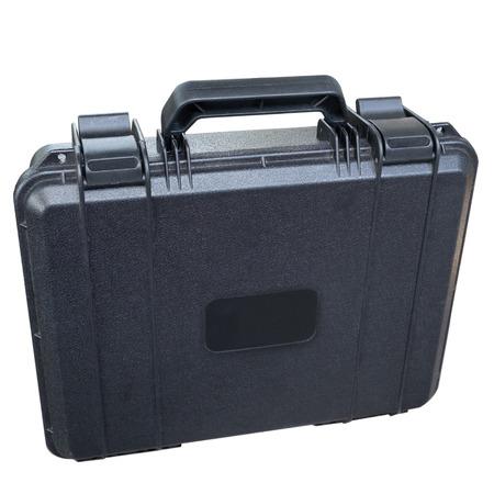 safety black case isolated on white background