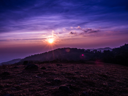 The sun is calling us to go on for trekking at Mon Jong, Chiangmai, Thailand.