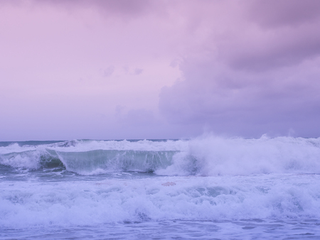 I'm inlove with nature, an amazing color of nature makes me stare at them forever, the incoming wave at Phuket, the southern part of Thailand.