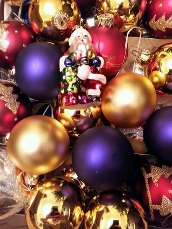 gold: Christmas decoration