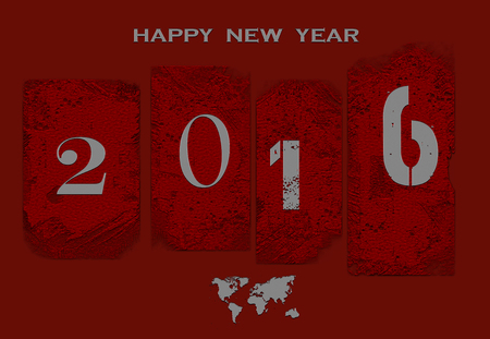 bonne ann�e: Happy New Year Banque d'images