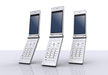 feature: feature phones Stock Photo