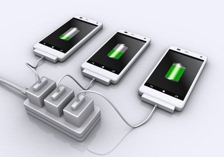 charge: Charge for smart phone.