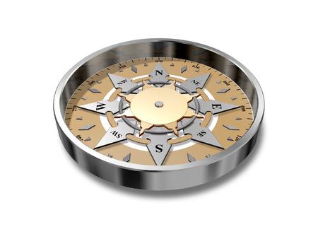 azimuth: vintage compass