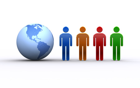 人と地球アメリカ合衆国、南アメリカ