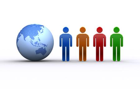 人と地球アジア、オセアニア