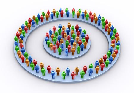 circularity: The people who gather circularly