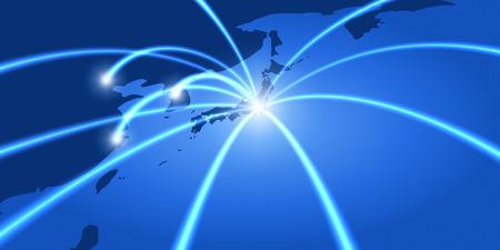 Netzwerk-image Standard-Bild