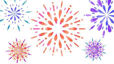 Fireworks Illustrations