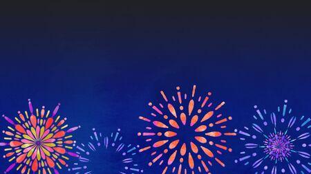 Fireworks Night Sky Summer Tradition