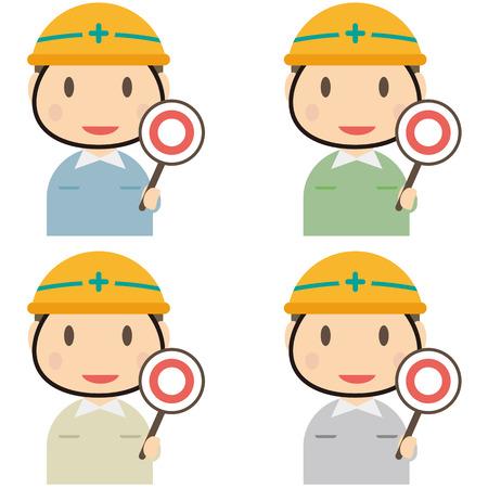 mal: Male workers 4 Kara--of having a uniform Mar