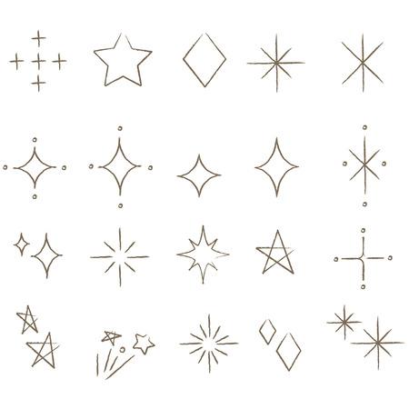 Handwritten Glitter Ilustração