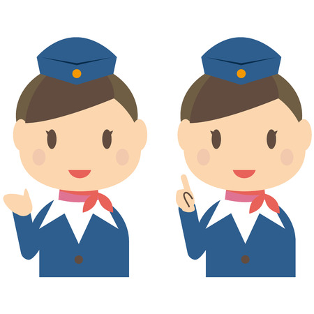 Cute cabin crew guidance and Introduction