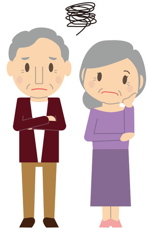 Senior couple No.2 trouble