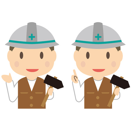 Carpenters men are referrals and guides