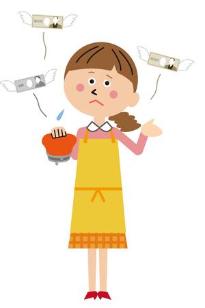 Mother has no money Foto de archivo - 104609305