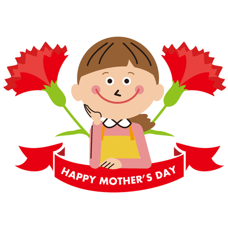 mother's day 写真素材 - 121645180