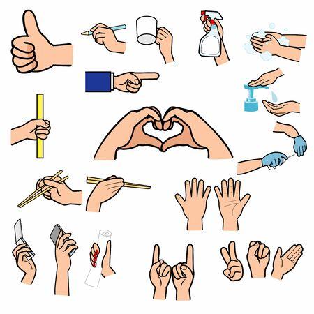 Signo de mano, signo de dedo