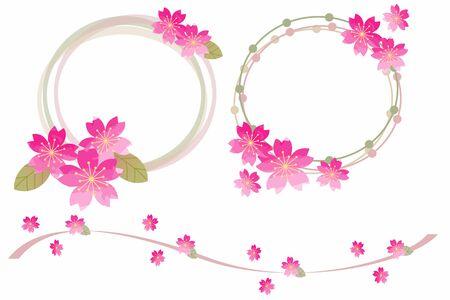 Cherry Tree Wreath Japanese Style
