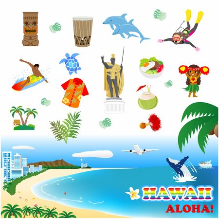 Hawaii Tourism, Cultural Icons