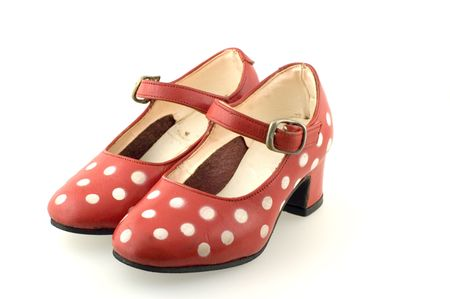 tap dance: polka dot shoes