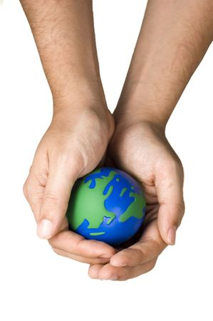planet in your hands Stock Photo - 356943