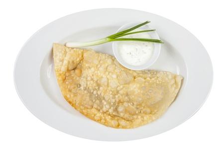 meat pie: empanada, meat pie Stock Photo