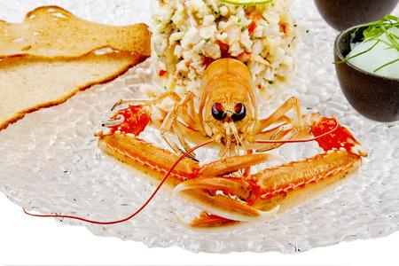 prepared: Seafood. Prepared Shellfish. Mediterranean.