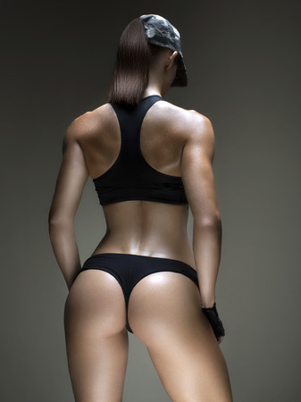 Perfect forms. Cropped studio shot of a stunning hot sporty body of a fitness woman