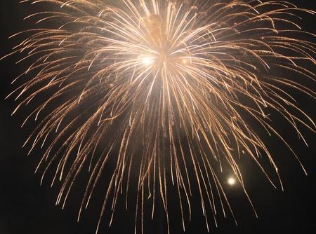 hanabi: Fireworks at Hanabi festival in Japan  Stock Photo