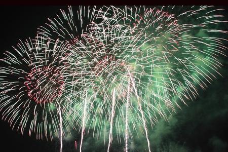 Fireworks at Hanabi festival in Japan Stock Photo - 11392253