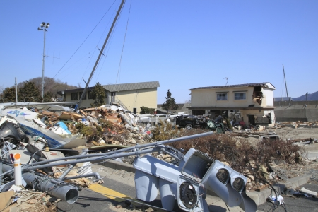 東日本大震災地震 報道画像