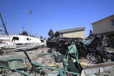 natural phenomena: the Great East Japan Earthquak