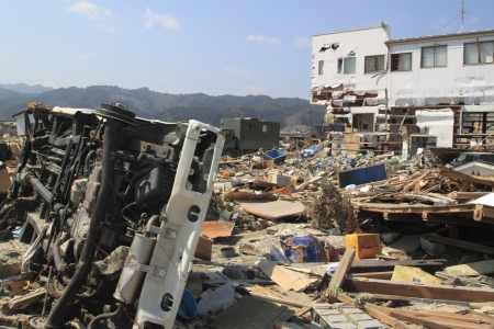 natural disaster: TheGreat East Japan Earthquake