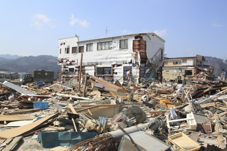 The Great East Japan Earthquake Stock Photo - 11389917