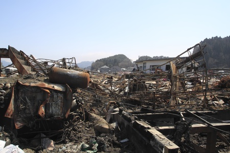 natural phenomena: The Great East Japan Earthquake