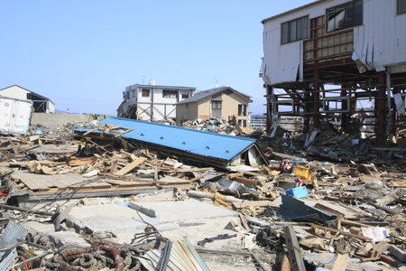 natural disaster: The Great East Japan Earthquake