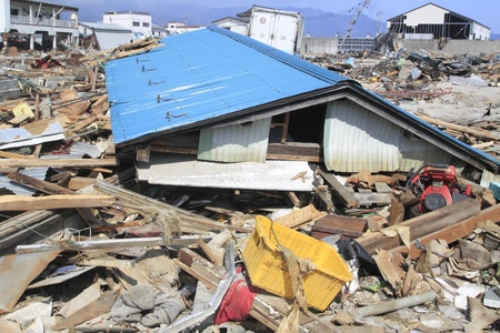 The Great East Japan Earthquake Stock Photo - 11389933
