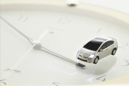 Prius und Uhr
