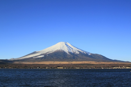 Mt Fuji and Lake Yamanaka  photo