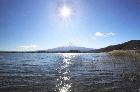 kawaguchi: Mt.Fuji in winter