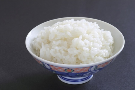Rice in a bowl photo