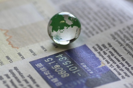 新聞の地球