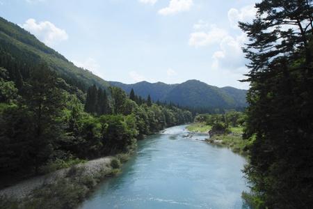 akita: ravine  Dakikaeri in Akita Stock Photo