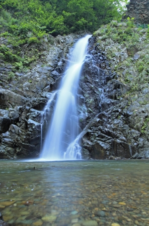 sanchi: Anmon no taki  Shadow Gate Falls   in Shirakami- Sanchi