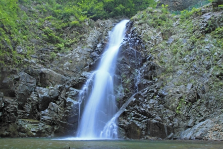 paysage: Anmon no taki  Shadow Gate Falls   in Shirakami
