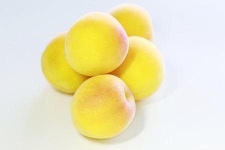 Close up  Ripe fruits of Ume