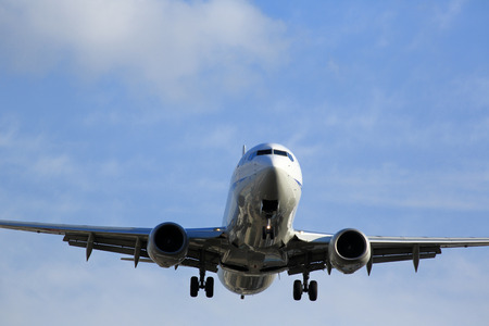 Flugzeug Standard-Bild