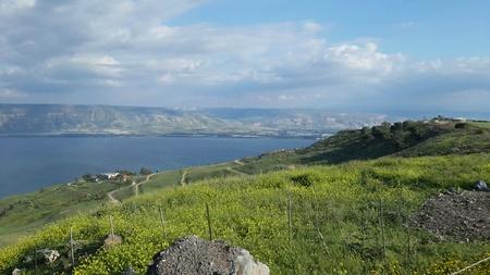 Sea of Galile view - Tiberias, Israel